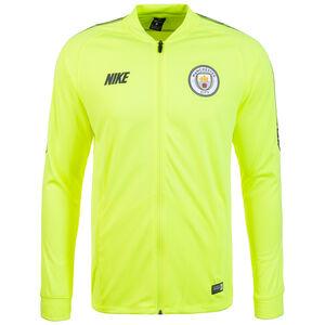 Manchester City Dry Squad Trainingsjacke Herren, neongelb / dunkelblau, zoom bei OUTFITTER Online