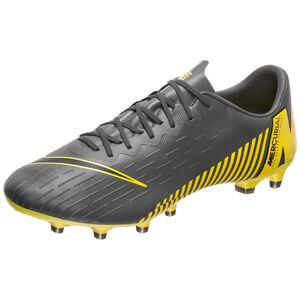 Mercurial Vapor XII Pro AG-Pro Fußballschuh Herren, dunkelgrau / gelb, zoom bei OUTFITTER Online