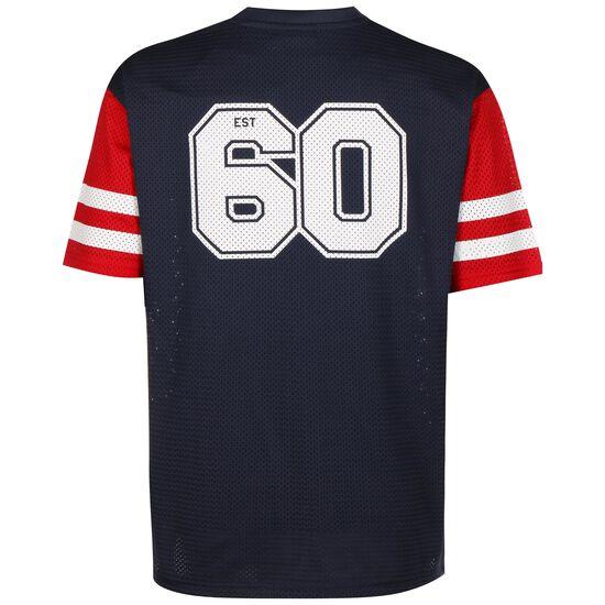 NFL New England Patriots Oversized T-Shirt Herren, dunkelblau / rot, zoom bei OUTFITTER Online