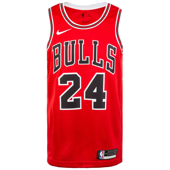 Chicago Bulls NBA Swingman Basketballtrikot Herren, rot / weiß, zoom bei OUTFITTER Online