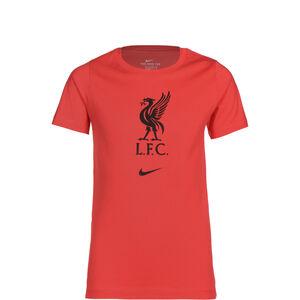 FC Liverpool Evergreen Crest T-Shirt Kinder, rot / schwarz, zoom bei OUTFITTER Online