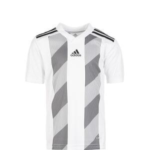 Striped 19 Fußballtrikot Kinder, weiß / schwarz, zoom bei OUTFITTER Online