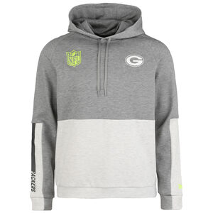 NFL Colour Block Green Bay Packers Kapuzenpullover Herren, beige / grau, zoom bei OUTFITTER Online