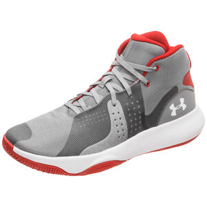 Anomaly Basketballschuh Herren, grau / rot, zoom bei OUTFITTER Online