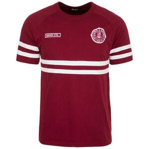 DMWU T-Shirt Herren, weinrot / weiß, zoom bei OUTFITTER Online