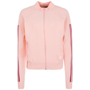 ID Trainingsjacke Damen, rosa / dunkelrot, zoom bei OUTFITTER Online