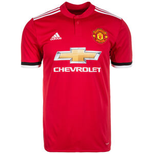 Manchester United Trikot Home 2017/2018 Herren, Rot, zoom bei OUTFITTER Online