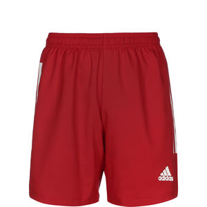 Condivo 20 Trainingsshorts Kinder, rot / weiß, zoom bei OUTFITTER Online