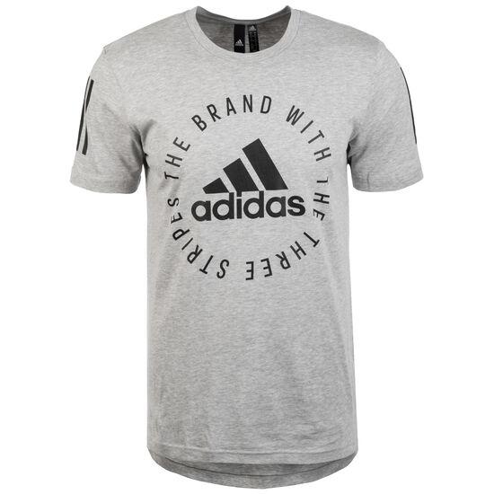 Sport ID Trainingsshirt Herren, grau / schwarz, zoom bei OUTFITTER Online