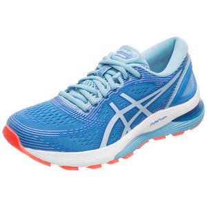 Gel-Nimbus 21 Laufschuh Damen, blau / hellblau, zoom bei OUTFITTER Online