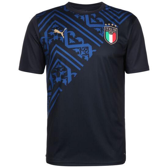 FIGC Italien Away Aufwärmshirt EM 2020 Herren, dunkelblau / blau, zoom bei OUTFITTER Online