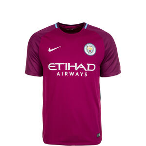 Manchester City Stadium Trikot Away 2017/2018 Kinder, Lila, zoom bei OUTFITTER Online