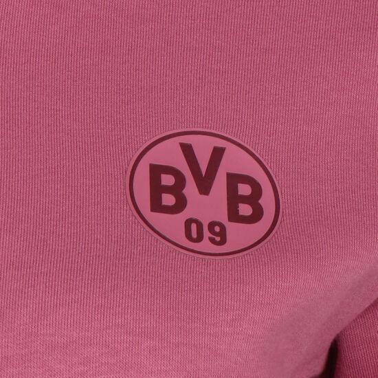 Borussia Dortmund BVB ftblCulture Trainingsjacke Damen, bordeaux / gelb, zoom bei OUTFITTER Online