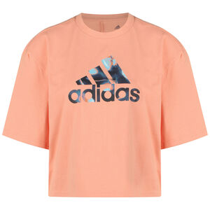 You For You Cropped Logo T-Shirt Damen, apricot / rosa, zoom bei OUTFITTER Online