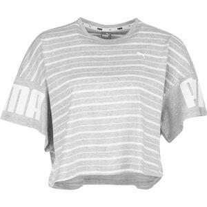 Rebel Striped T-Shirt Damen, hellgrau, zoom bei OUTFITTER Online