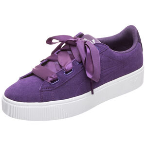 Vikky Stacked Ribbon Sneaker Damen, lila / weiß, zoom bei OUTFITTER Online