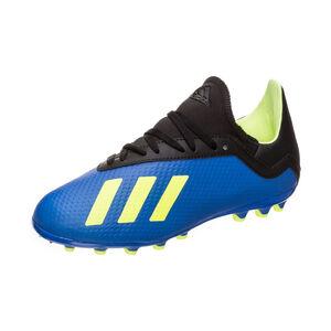 X 18.3 AG Fußballschuh Kinder, Blau, zoom bei OUTFITTER Online