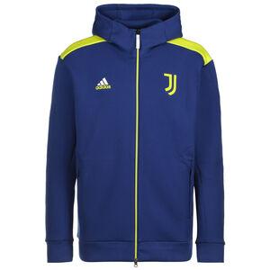 Juventus Turin Z.N.E. Kapuzenjacke Herren, blau / gelb, zoom bei OUTFITTER Online