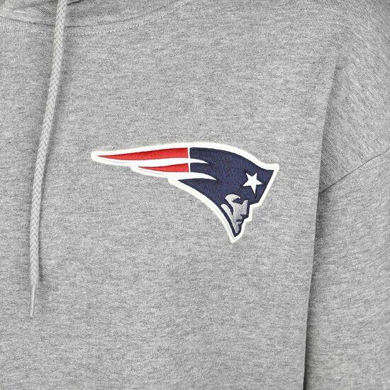 NFL New England Patriots Detail Logo Kapuzenpullover Herren, grau, zoom bei OUTFITTER Online