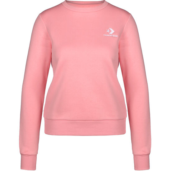 Star Chevron Embroidered Crew Sweater Damen, rosa, zoom bei OUTFITTER Online