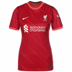 FC Liverpool Trikot Home Stadium 2021/2022 Damen, rot / weiß, zoom bei OUTFITTER Online