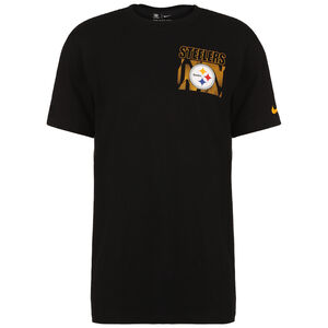 NFL Cotton Facility Pittsburgh Steelers T-Shirt Herren, schwarz, zoom bei OUTFITTER Online