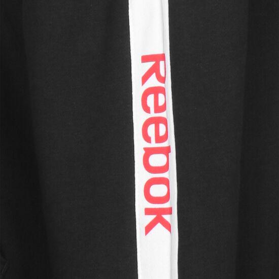 Training Essentials Linear Logo Kapuzenjacke Damen, schwarz / weiß, zoom bei OUTFITTER Online