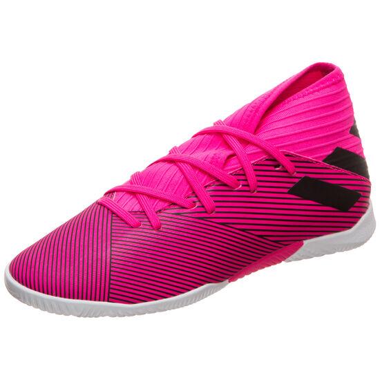Nemeziz 19.3 Indoor Fußballschuh Kinder, pink / schwarz, zoom bei OUTFITTER Online