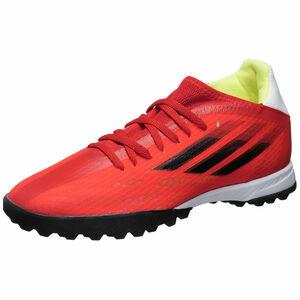 X Speedflow.3 TF Fußballschuh Herren, rot / schwarz, zoom bei OUTFITTER Online