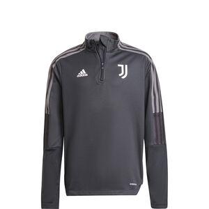 Juventus Turin Trainingssweat Kinder, grau / weiß, zoom bei OUTFITTER Online