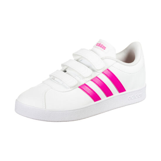 VL Court 2.0 CMF Sneaker Kinder, weiß / pink, zoom bei OUTFITTER Online
