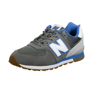 GC574-M Sneaker Kinder, grau / blau, zoom bei OUTFITTER Online
