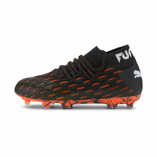 Future 6.1 NETFIT FG/AG Fußballschuh Kinder, schwarz / orange, zoom bei OUTFITTER Online
