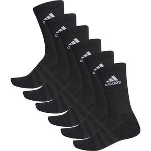 Cush Crew Socken 6er-Pack, schwarz, zoom bei OUTFITTER Online
