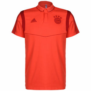 FC Bayern München Cotton Poloshirt Herren, rot, zoom bei OUTFITTER Online