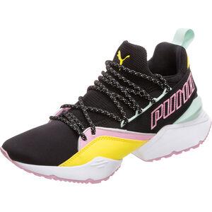 Muse Maia TZ Sneaker Damen, schwarz / gelb, zoom bei OUTFITTER Online