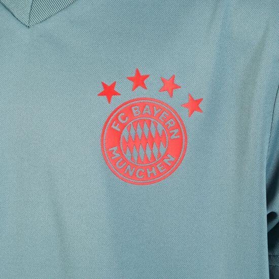 FC Bayern München Trainingstrikot Kinder, grün / rot, zoom bei OUTFITTER Online