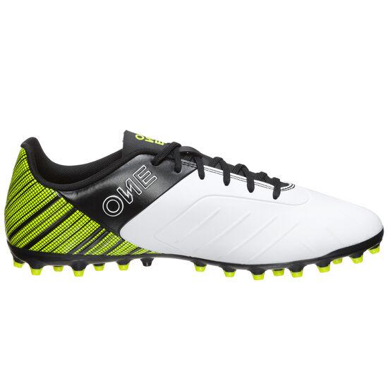 ONE 5.4 MG Fußballschuh Herren, weiß / neongelb, zoom bei OUTFITTER Online