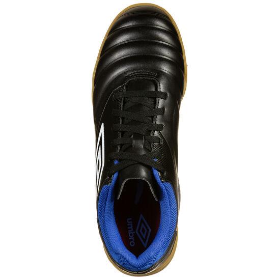 Tocco Club Indoor Fußballschuh Herren, schwarz / blau, zoom bei OUTFITTER Online