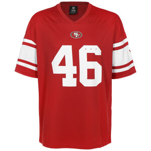 NFL San Francisco 49ers Franchise Trikot Herren, rot / weiß, zoom bei OUTFITTER Online