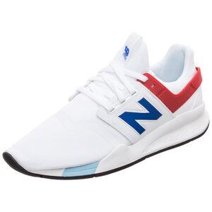 MS247-D Sneaker Herren, weiß / rot, zoom bei OUTFITTER Online