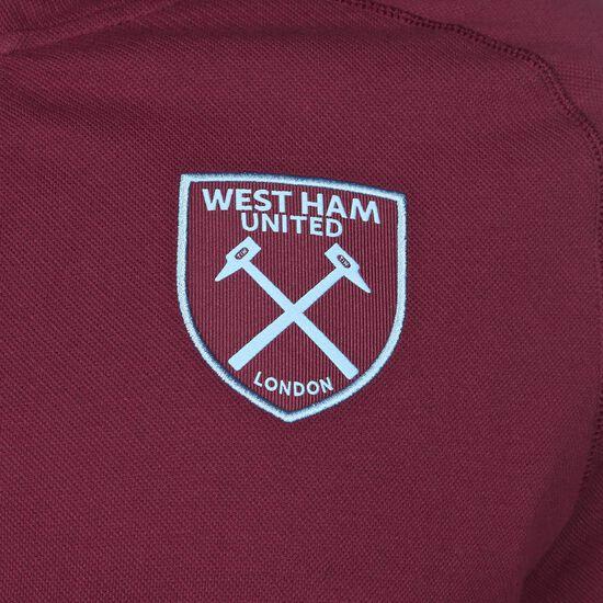 West Ham United Travel Kapuzenjacke Herren, bordeaux / hellblau, zoom bei OUTFITTER Online