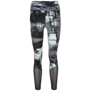 Elixir Printed Trainingstight Damen, schwarz / mint, zoom bei OUTFITTER Online