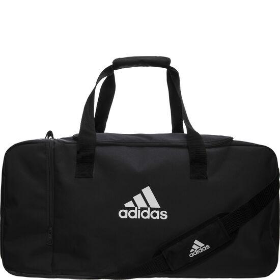 Tiro Duffel Large Fußballtasche, schwarz / weiß, zoom bei OUTFITTER Online