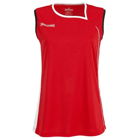 4Her II Basketballtank Damen, rot / weiß, zoom bei OUTFITTER Online