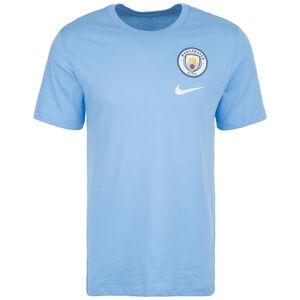 Manchester City Evergreen Crest T-Shirt Herren, hellblau, zoom bei OUTFITTER Online