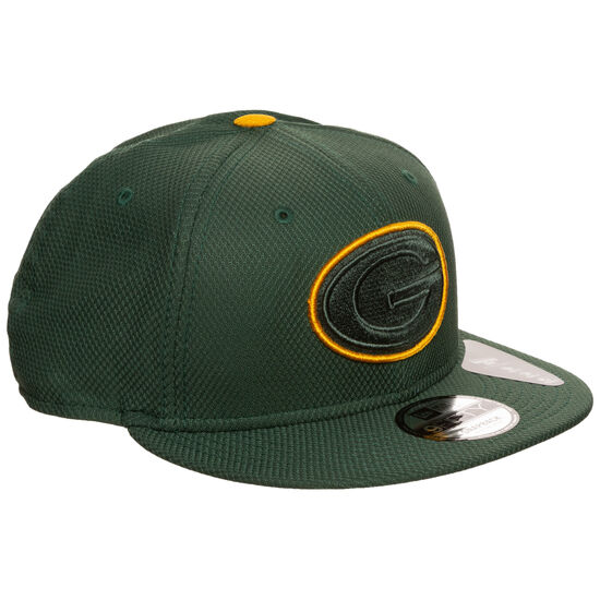 9FIFTY NFL Green Bay Packers Team Outline Cap, grün / gelb, zoom bei OUTFITTER Online