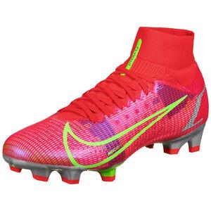 Mercurial Superfly 8 Pro DF FG Fußballschuh Herren, neonrot / pink, zoom bei OUTFITTER Online
