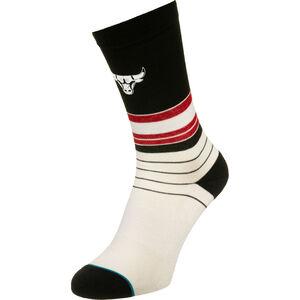 Bulls Baseline Socken, weiß / rot, zoom bei OUTFITTER Online