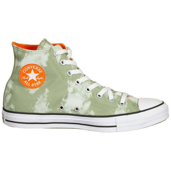 Chuck Taylor All Star High Sneaker, grün / weiß, zoom bei OUTFITTER Online